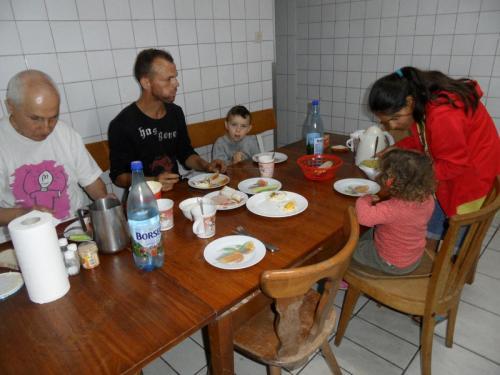Liviu und seine zwei Kinder